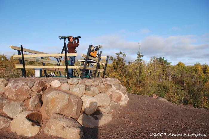Hawk Ridge Main Overlook Panoramic View Photo by Andrew Longtin